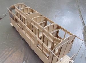 Eerste prototype met volledig interieur.